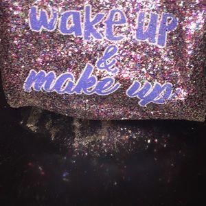Handbags - Wake Up and Make Up make up bag